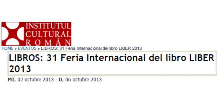 Madrid, La Feria internacional del libro LIBER