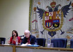 Ioana Gruia y Norman Manea