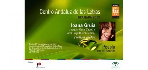Granada, Lectura poética