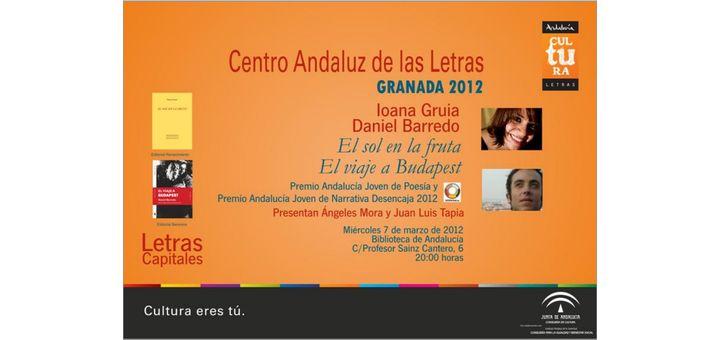 Granada, Presentación del libroy lectura poética.