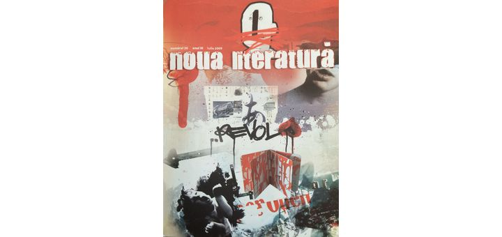 creacion literaria publicaciones Poezia, ultima casa a milei (rumano)