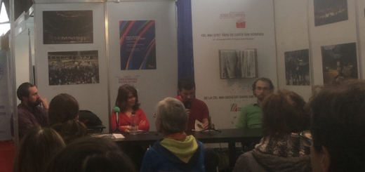 Ioana Gruia en la Feria del Libro GAUDEAMUS- Bucarest 2015