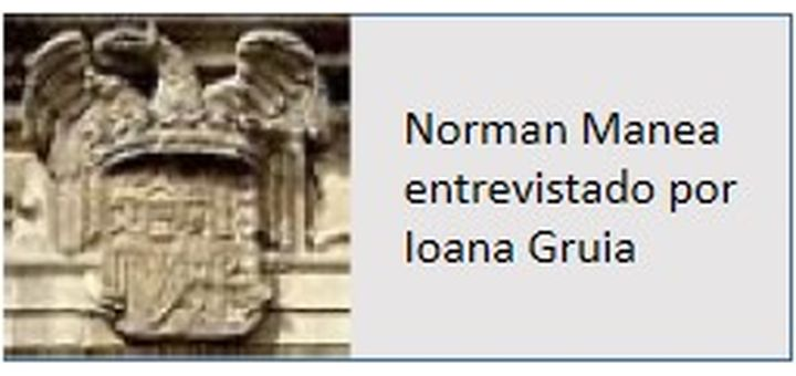 EVENTOS Entrevista con Norman Manea