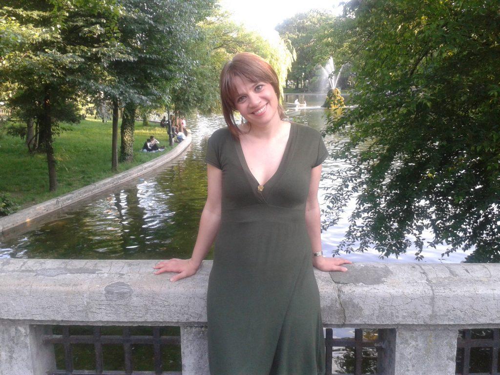 En el parque de mi infancia Cismigiu