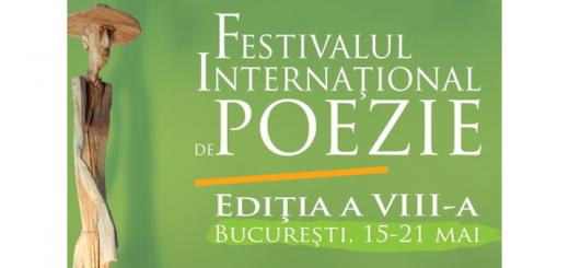 Ioana Gruia invitado al Festival de Poesía en Bucarest