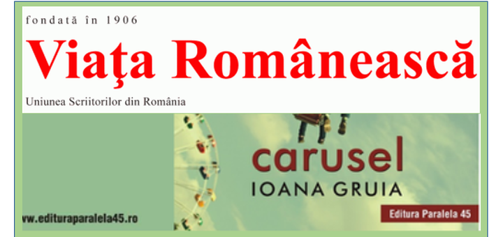 resenas carruselReseña de Ioan Grosan en Viata Româneasca