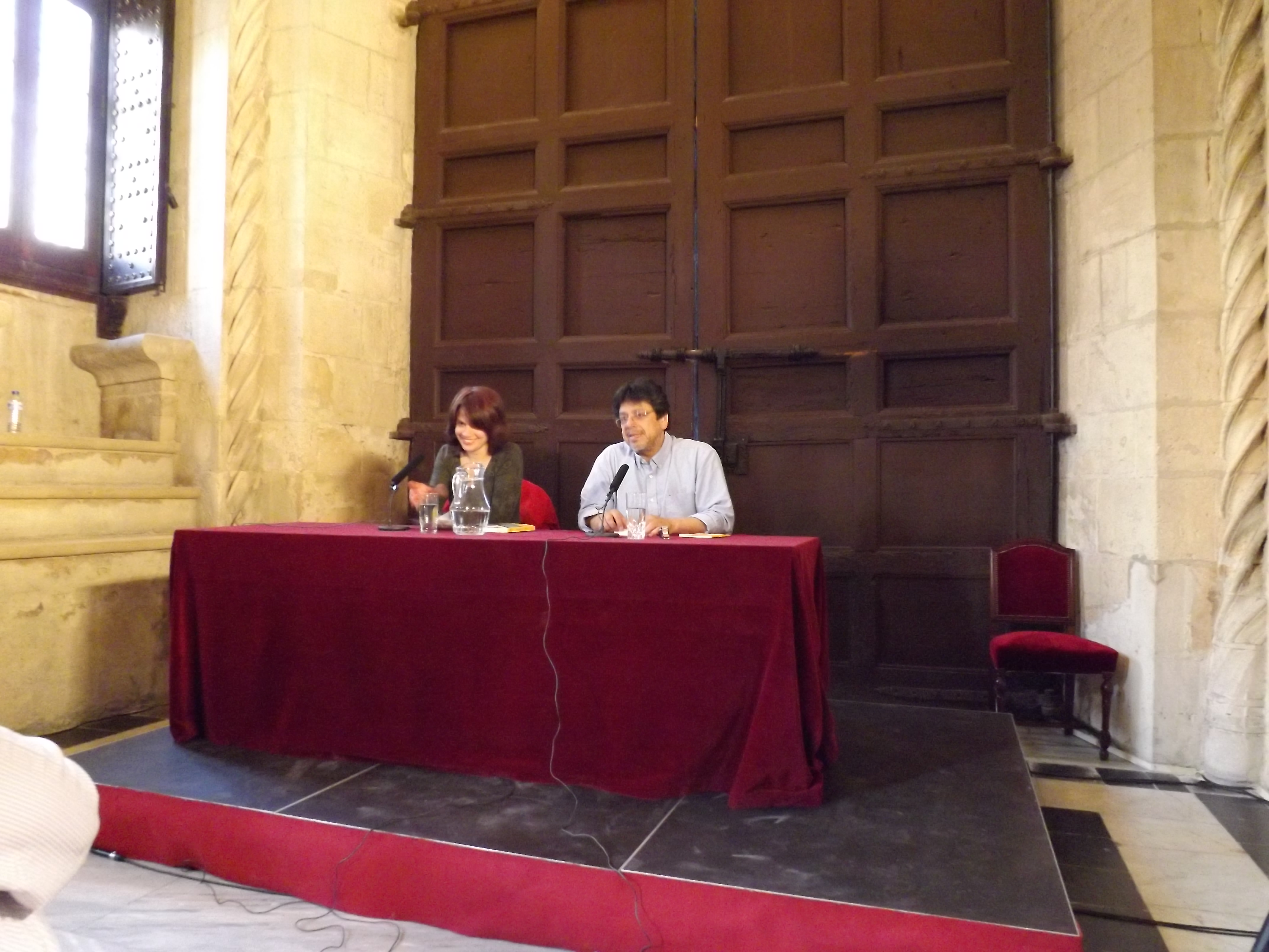 con Fernando Iwasaki, Sevilla 2013