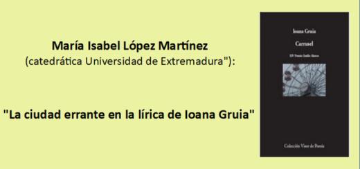 RESENAS María Isabel López Martínez